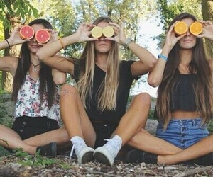 friends, summer, and friendship image