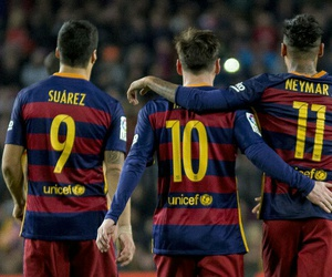 soccer, fc barcelona, and messi image
