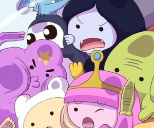 wallpaper, adventure time, and hora de aventura image