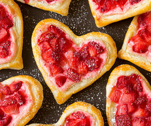desserts, pastries, and strawberry image