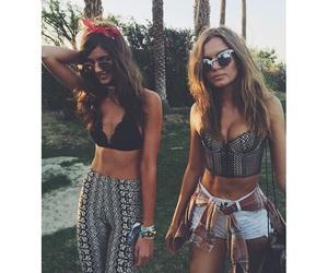 coachella, model, and summer image