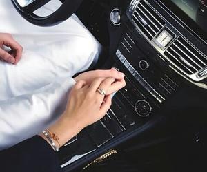 car, couple, and fashion image