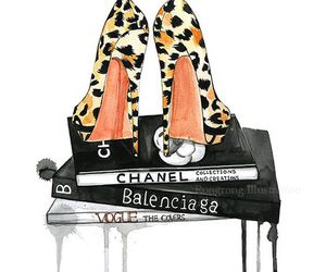 draw, fashion, and shoes image