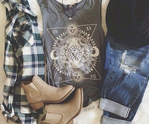 chic and casual image
