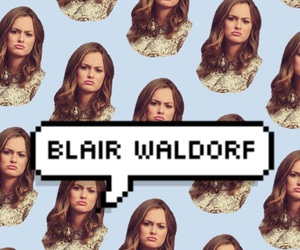 bae, blair, and blair waldorf image