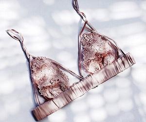 fashion, bra, and pink image