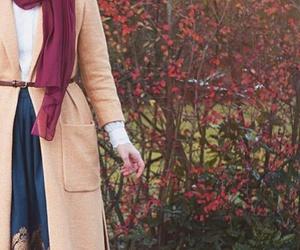 beauty, hijab, and dress image