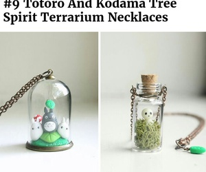 nature, necklace, and totoro image