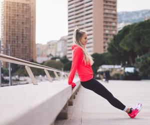 fashion, workout, and janni deler image