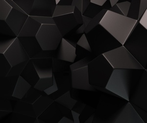 3d, black, and wallpaper image
