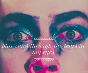 eyes, grunge, and Tim Curry image