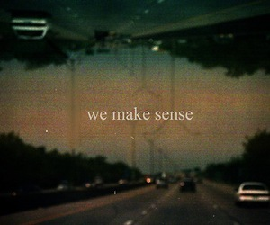 quote, sense, and text image
