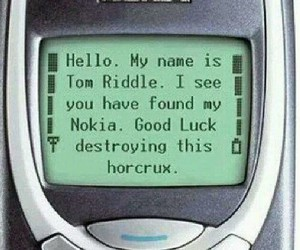 harry potter, nokia, and tom riddle image