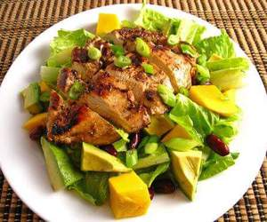 avocado, Chicken, and healthy food image