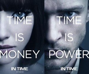 in time, justin timberlake, and time image
