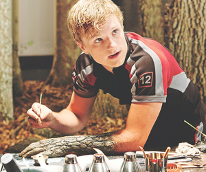 the hunger games, peeta, and peeta mellark image