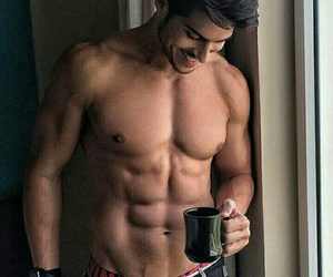 abs, handsome, and tumblr image