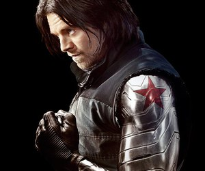 winter soldier, bucky barnes, and civil war image