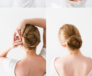 bun, gorgeous, and tutorial image