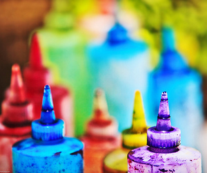 colour, paint, and colorful image
