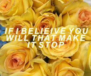 aesthetic, Lyrics, and roses image