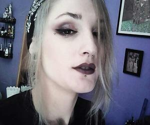 eyeliner, makeup, and mac image