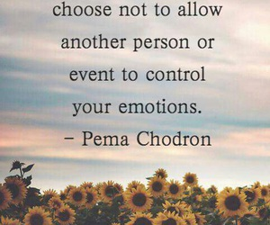 emotions, quote, and inner peace image