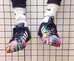 adidas, colors, and fashion image