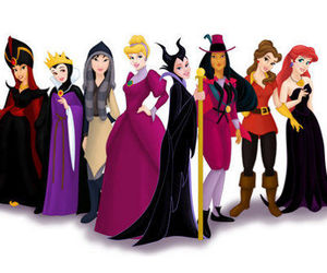 princess and evil costumes image