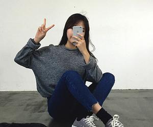 kfashion, asian, and fashion image