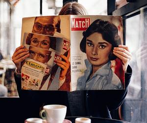 girl, magazine, and vintage image