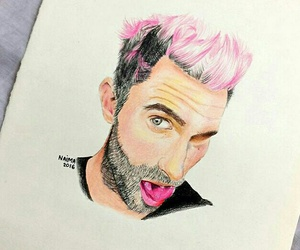 drawing, maroon 5, and maroon five image