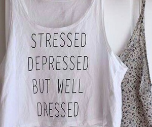 clothes, depressed, and fashion image