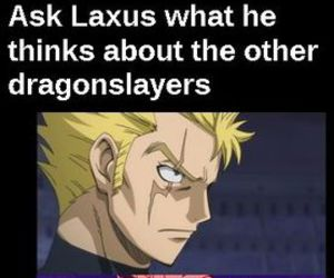 fairy tail, laxus, and dragon slayers image