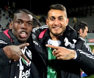 Juventus, paul pogba, and roberto pereyra image