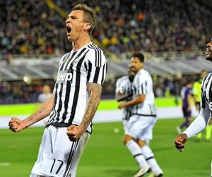Juventus, mario mandzukic, and patrice evra image