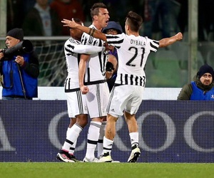 Juventus, patrice evra, and mario mandzukic image
