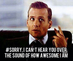 suits, harvey specter, and awesome image