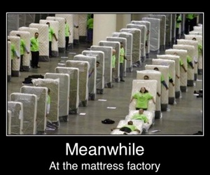 funny, lol, and mattresses image
