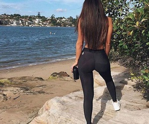 fitness, body, and hair image