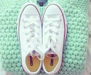 converse, fashion, and sweater image