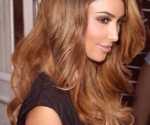 kim kardashian, hair, and pretty image
