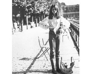 boots, denim, and vintage image