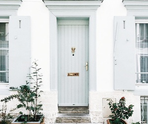 door, house, and architecture image