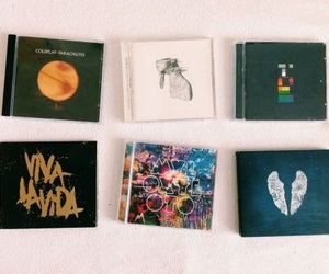 coldplay, album, and cd image
