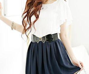 casual, kfashion, and skirt image