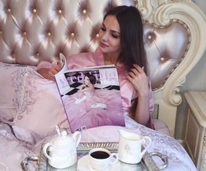 luxury and pink image