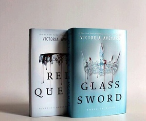 victoria, red queen, and glass sword image