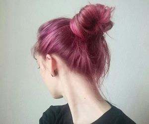 color, hairstyle, and pink hair image