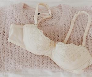 bra, lace, and lace bra image